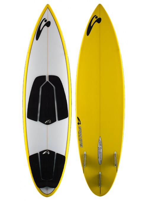 Amundson -Kite Surf Board ProX 2017 - Yellow