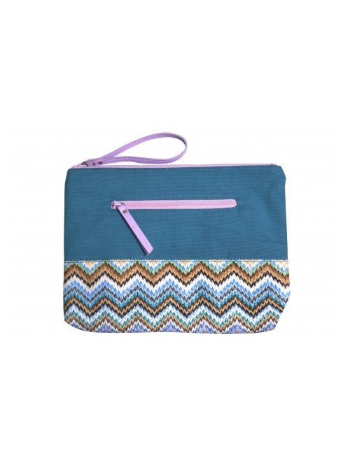 Makaron Canvas Beach Pouch