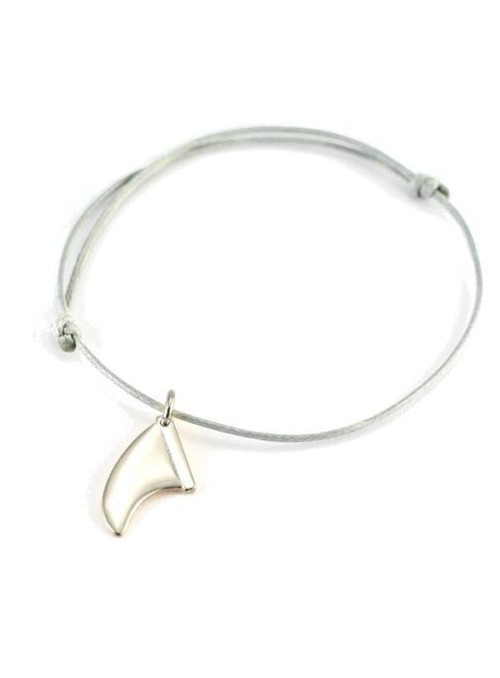 Fins S Bracelet or Necklace - Silver