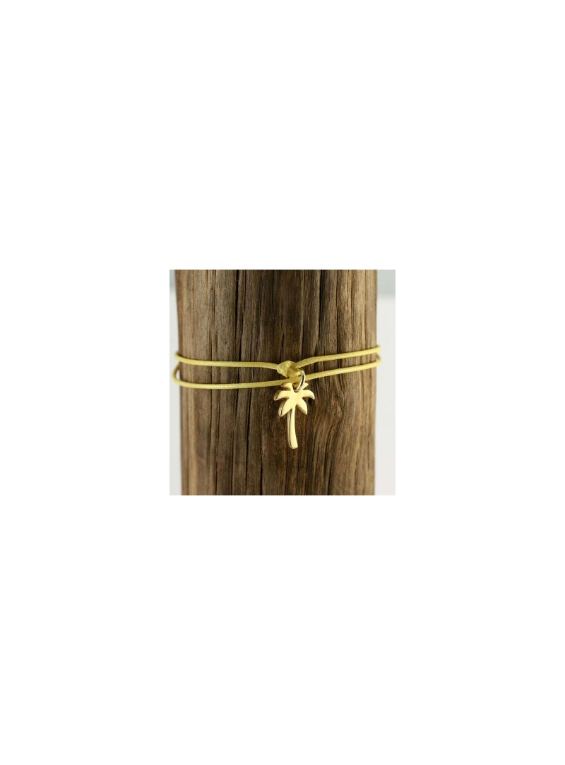 Palmtree S Bracelet or Necklace Gold Plated
