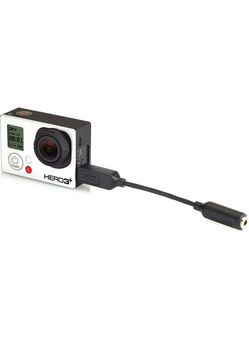 GoPro:-3.5mm Mic Adapter -AMCCC-301