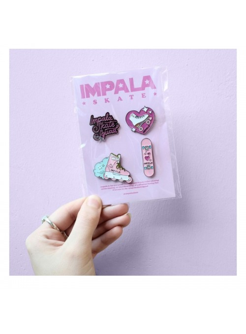 Impala Skate Enamel Pin Pack