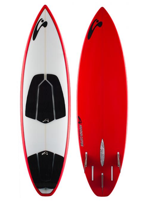 Amundson Kite Surf Board Strapless 6
